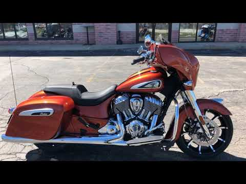 2019 Indian Chieftain® Limited Icon Series in Muskego, Wisconsin - Video 1