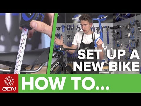 How To Set Up A New Bike   Maintenance Monday