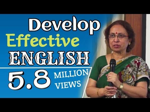 Develop Effective English|Sumitha Roy|TELUGU IMPACT Hyd 2013