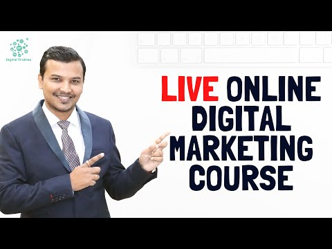 Learn Live Practical Digital Marketing Online Course | Start with Live ...