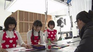 広瀬すず、土屋太鳳、松井愛莉がチョコ作りに挑戦!「ガーナミルクチョコレート」CMメーキング映像
