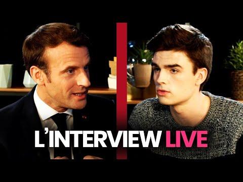 [REPLAY] L'interview live du président de la République
