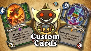 TOP CUSTOM CARDS OF THE WEEK #11 | Card Review | Hearthstone