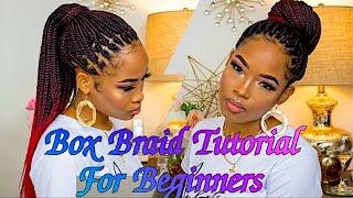 DIY Box Braids For Beginners