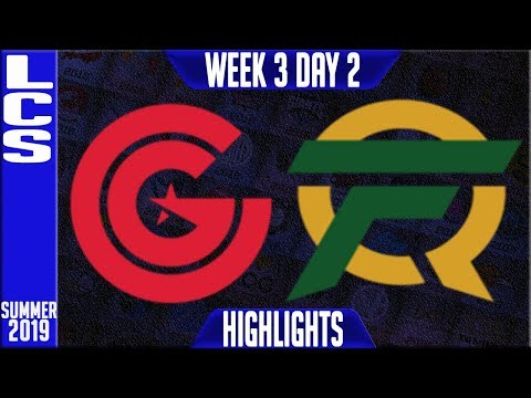 CG vs FLY Highlights   LCS Summer 2019 Week 3 Day 2   Clutch Gaming vs FlyQuest