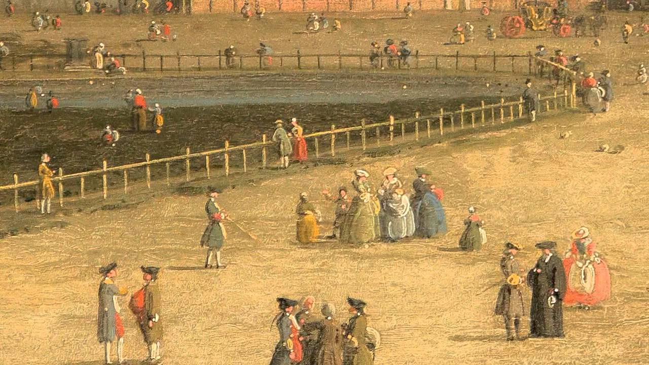 """Old Master Paintings   October 2012   Canaletto: """"The New Horse Guards from Saint James's Park"""""""