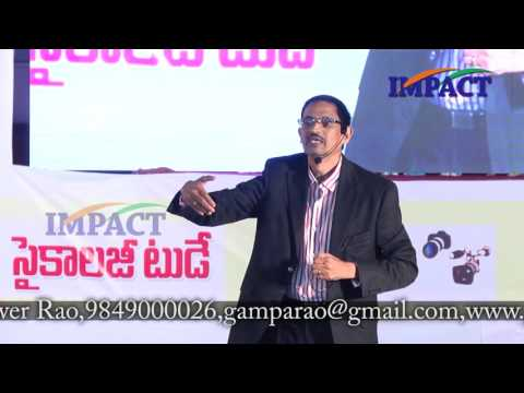 Spoken English|BK Reddy|TELUGU IMPACT Hyd August 2016