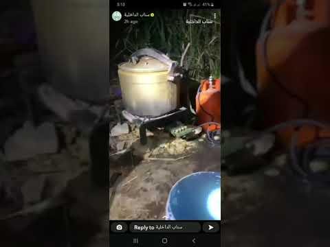 بالفيديو..  الإطاحة بإثيوبي يدير مصنعا للخمور بالرياض