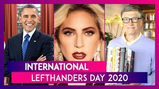 International Lefthanders Day 2020: Bill Gates to Oprah Winfrey, Know About These Celebrity Lefties! - Download this Video in MP3, M4A, WEBM, MP4, 3GP