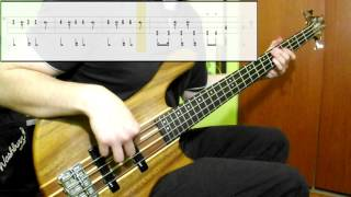 Toto   Africa (Bass Cover) (Play Along Tabs In Video)