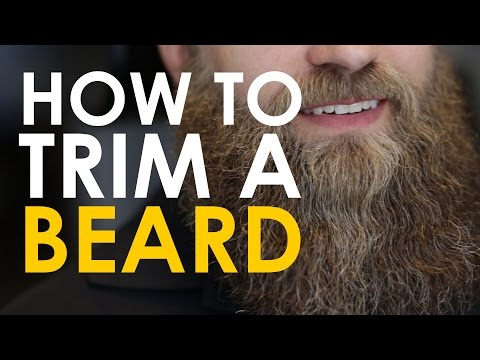 How to Trim a Beard | The Art of Manliness