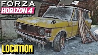 FORZA HORIZON 4 - [BARN FIND] Range Rover LOCATION