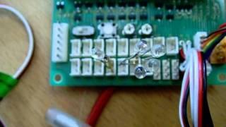Tamiya MFC 01 Ajout de Quatre leds sur J22 . 4 LED auf J22