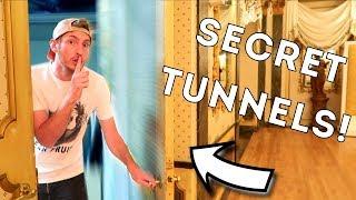 HIDDEN SECRET TUNNELS AT 5 STAR RESORT?! 🔦