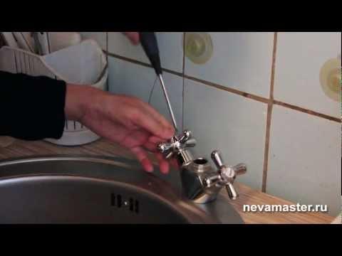 Ремонт смесителя на кухне своими руками