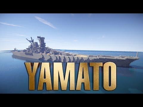 Yamato-class Battleship [1:1 scale] Minecraft Project
