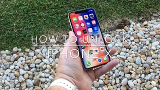 How to Unlock iPhone X from any network