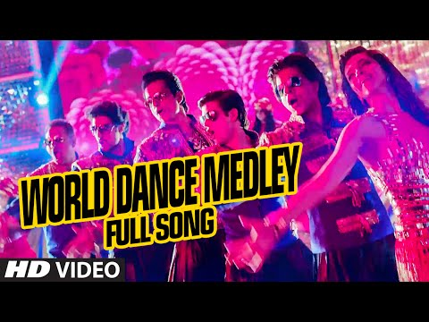 Official   quot world dance medley quot  full video song   happy new year   shah rukh khan   vishal  shekhar