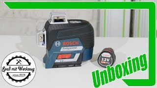 Bosch Professional Linienlaser Unboxing