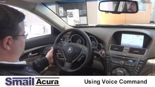 Using Acura Voice Command