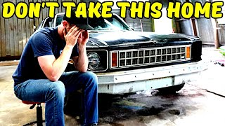 "How NOT To Buy Your First Project Car - 1977 Chevy Nova ""Barn"" Find"