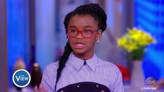 Thumbnail for Marley Dias Talks Encouraging Kids To Read, Getting Kids Involved In Activism | The View