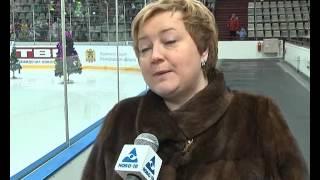 Маша и Медведь на льду