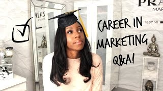 Career In Marketing Q&A Pt.2 | How To Get A Marketing Job   Skills & Getting Experience