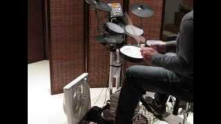 Duran Duran - Taste The Summer [drum cover]  Roland HD-3