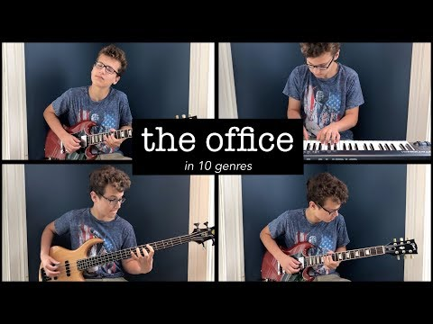 The Office Theme In 10 GenresThe theme of The Office played in 10 different