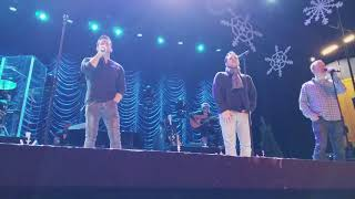 98 Degrees at Christmas *Mary Did You Know* Soundcheck - Richmond
