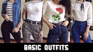SCHOOL APPROPRIATE OUTFIT IDEAS 2019 | Rica Catacutan (Philippines)
