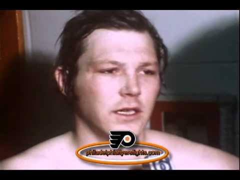 1973 1974 Andre Dupont Interview Philadelphia Flyers