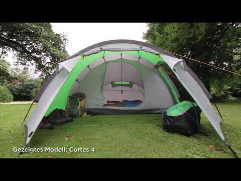Coleman® Cortes 3 - Campingzelt für 3 Personen - DE