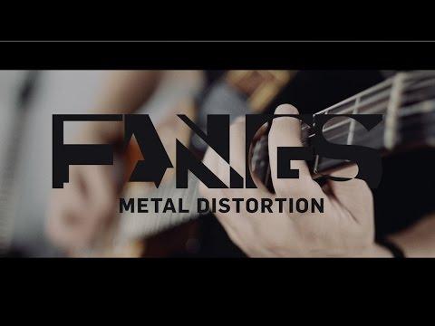 TC ELECTRONIC Fangs Metal Distortion Kytarový efekt