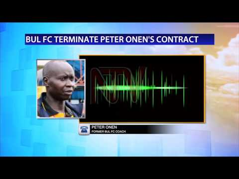 Chaos as BUL FC sack coach peter Onen