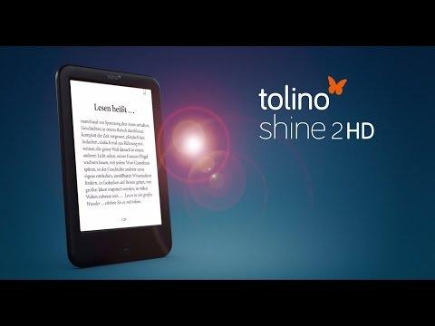 tolino shine 2 HD eBook Reader: Handlicher, schneller und super scharf