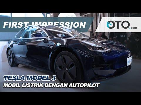 Tesla Model 3 | First Impression | Mobil Listrik Dengan Autopilot | OTO com