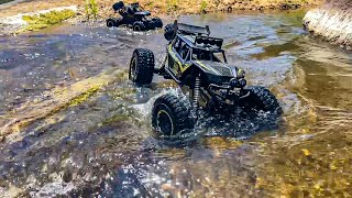 4X4 RC Rock Crawler 4WD Double Motors Off-Road Car 1:8 vs 1:12 Scale| Excellent Off-Road Performance