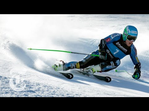 Sochi Olympics 2014 | Ted Ligety: Giant Slalom (GS) Skier's Unique Turning | The New York Times