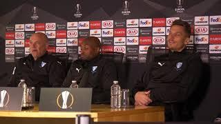 Presskonferens Inför Returen Mot Chelsea FC