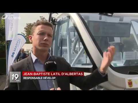 Navya feiert in Belgien Premiere