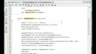 Image Processing with Java #2 Design