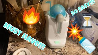 The First Years: Bottle Warmer review and demonstration
