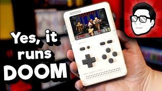 "D.I.Y. ""Game Boy"" Handheld!   ClockworkPi V3.1 GameShell Review | Nintendrew"
