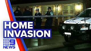Family attacked as thieves break into home | 9 News Australia