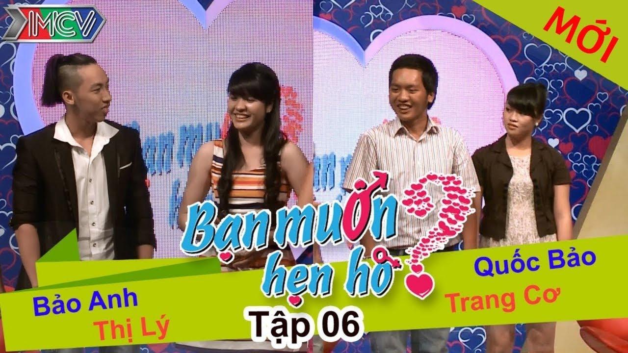 BẠN MUỐN HẸN HÒ #6 UNCUT | Quốc Bảo - Trang Cơ | Bảo Anh - Nguyễn Lý | 151213 💖