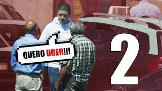 PEDINDO UBER A TAXISTA (PARTE 2) | NUMEIRO