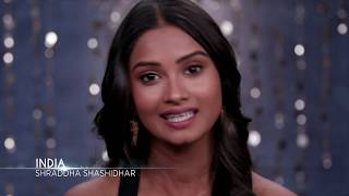 Shraddha Shashidhar Miss Universe India 2017 Introduction Video