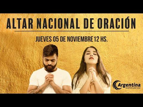 58. Altar Nacional de Oración | Jueves 05 de noviembre 2020
